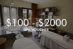 Custom Vie Spa Voucher